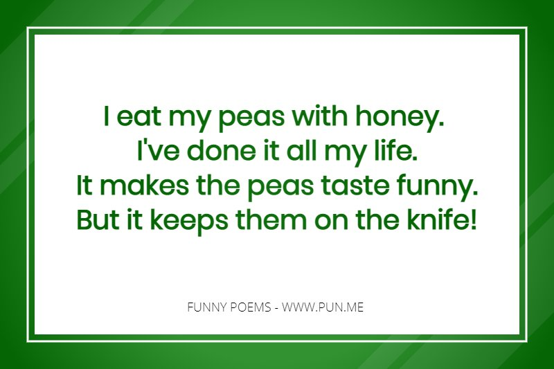 17 Funny Poems to make your day, it will make you smile we say! | Pun me