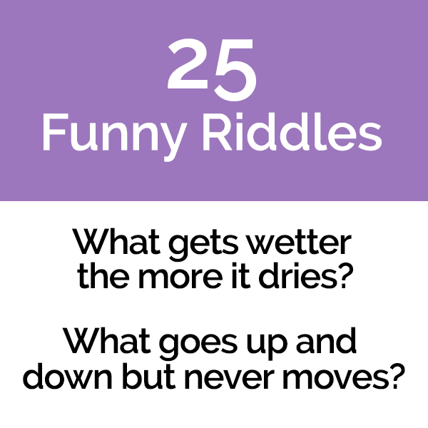 25 Funny Riddles With Revealable Answers Pun Me