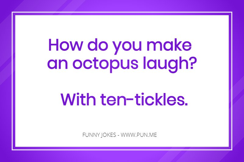 Puns funny short Examples of