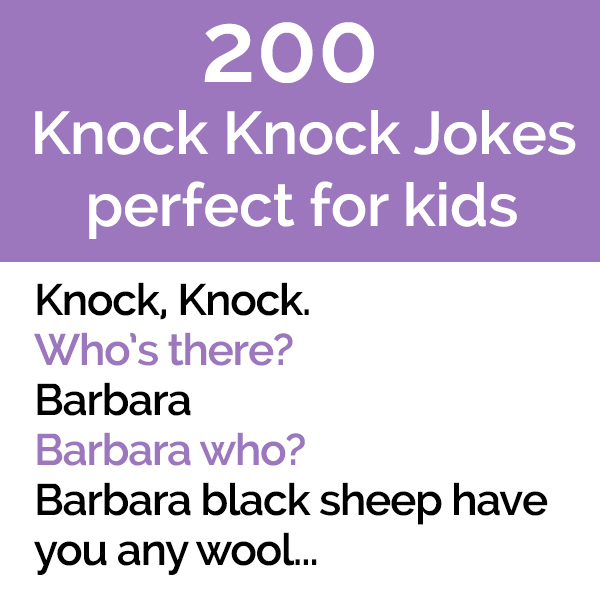 200 Fun Knock Knock Jokes Great For Kids Pun Me