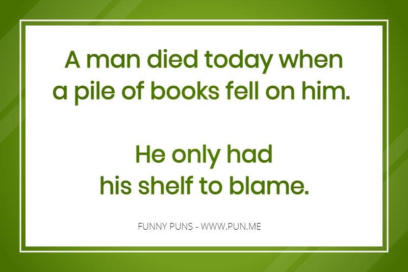 Funny short puns List of